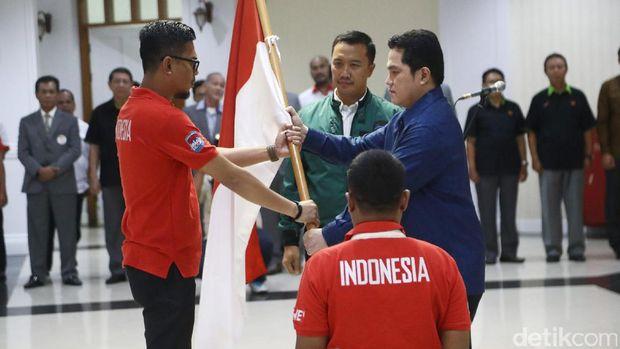 Menpora Lepas Kontingen Indonesia untuk Asian Winter Games