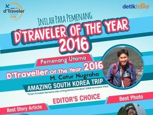 Inilah Dia Para Pemenang dTraveler of The Year 2016!