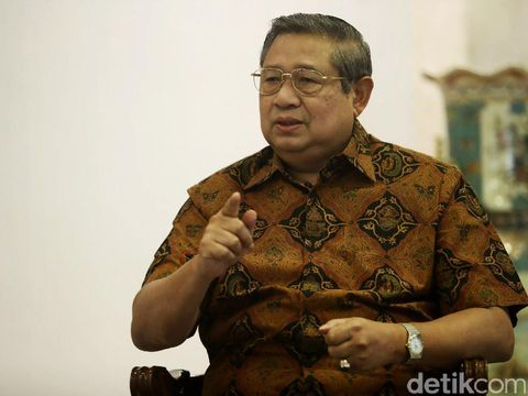 Ketum PD Susilo Bambang Yudhoyono.