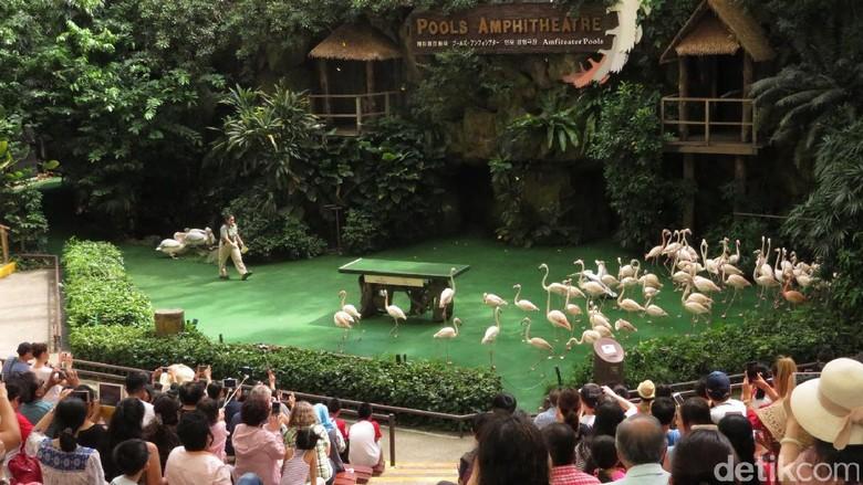Kebun burung di Singapura