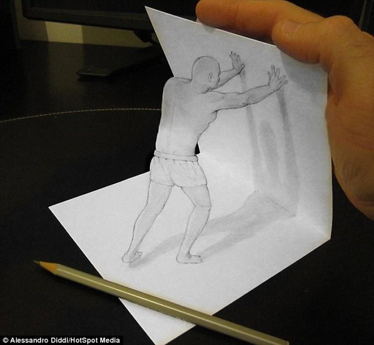 Gambar 3 Dimensi Menakjubkan Hanya Bermodal Pensil