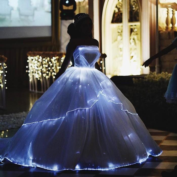 Mewah Rachel Vennya Ganti Baju Princess 3 Kali Di Resepsi Pernikahan