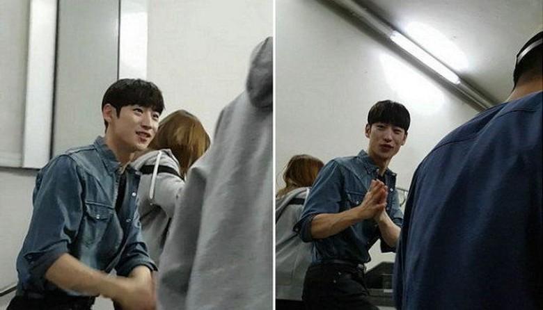 Tak Bisa Temui Fans di Lokasi Syuting, Lee Jae Hoon Beri Tanda Maaf