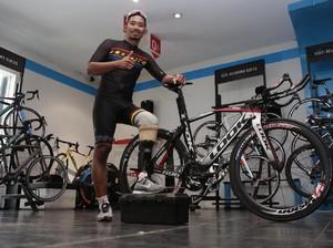 M. Fadli, Dari Balap Motor Banting Setir ke Ajang Sepeda