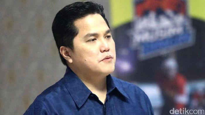 Menteri BUMN Erick Thohir (Foto: Grandyos Zafna/detikcom)