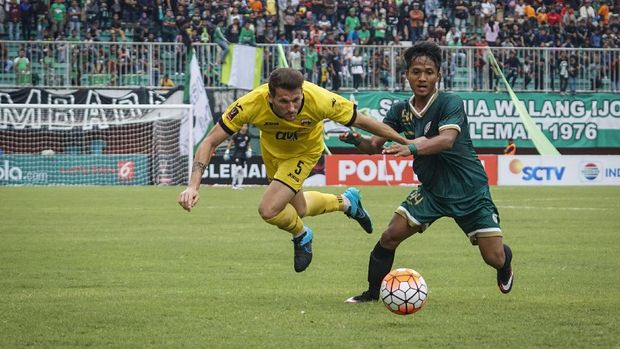 Laga Pembuka Liga 1 2019, PSS dan Arema Imbang di Babak I