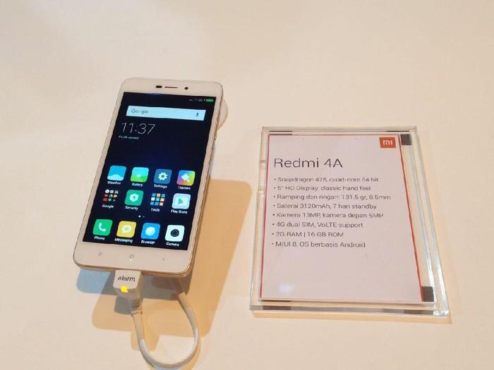 Lagi Cari Xiaomi Redmi 4A Bekas? Ini Harga dan Spesifikasinya/Foto: Agus/inet