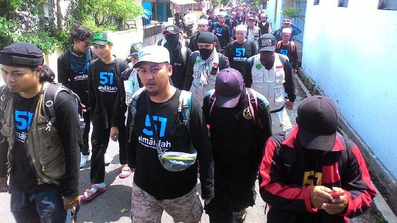 17 Bus Angkut Warga Solo Gabung Aksi 112 di Jakarta