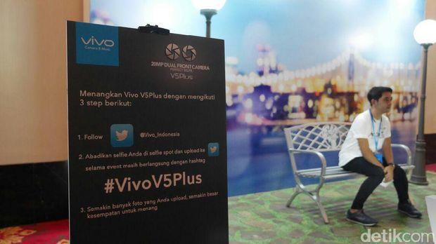 Live Report: Peluncuran Ponsel Kamera Selfie Ganda Vivo V5 Plus