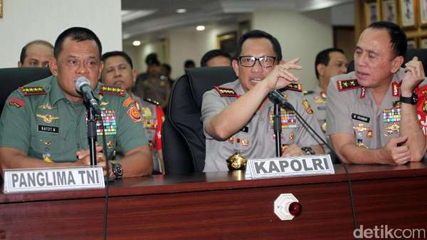 Bahas Kasus, Panglima TNI dan Jajarannya Datangi KPK
