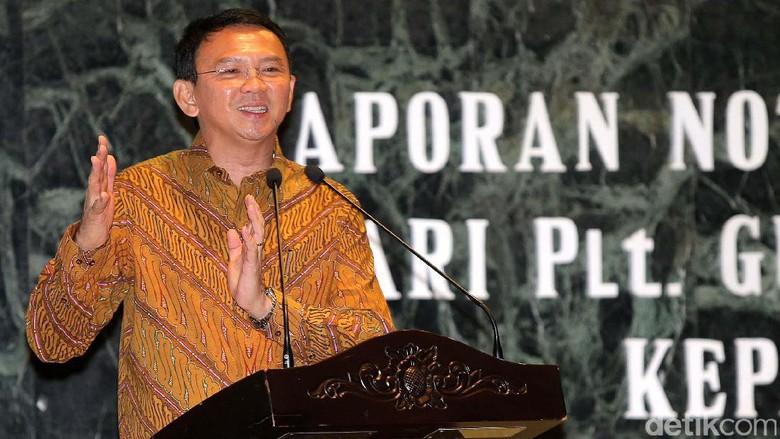 Ahok Resmi Aktif Menjabat Gubernur DKI Jakarta