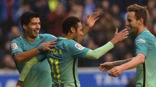Suarez Bakal Sambut Kedatangan Neymar di Barcelona