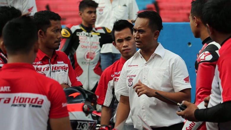 Terjun ke Balap Sepeda, M. Fadli Tetap Jadi Instruktur Balap Motor