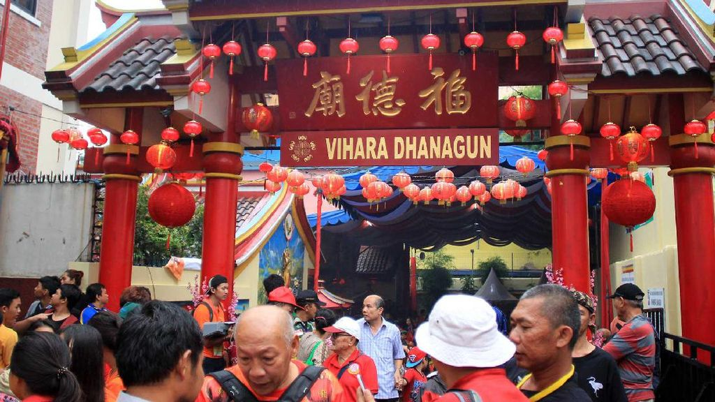 Ada Festival Cap Go Meh 2018, Lalin Sekitar Istana Bogor Direkayasa