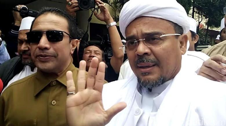 Siapa Pasang Bendera ISIS di Rumah Habib Rizieq?