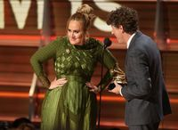 Adele di Grammy Awards 2017.