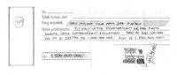Pihak Rano Jelaskan Soal Gambar Kuitansi Duit Titipan Rp 15 M