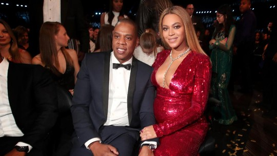 Lovely Moment Beyonce dan Jay-Z di Grammy Awards 2017
