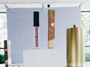 Rollover Reaction Rilis Lipstik Metalik Warna Rose Gold