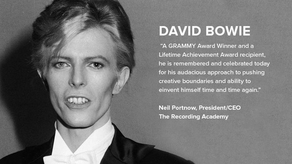 Neil Portnow Beri Penghormatan Pada David Bowie