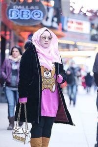 Anniesa Hasibuan saat di New York /