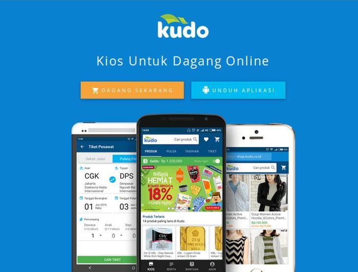 Aplikasi Kudo/Foto: Kudo
