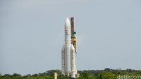 Satelit Telkom 3S Sudah Tiba di Jalur Orbit