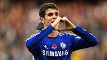 Maaf, Willian dan David Luiz... Oscar Cuma Mau Balik ke Chelsea