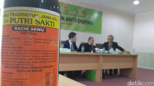 Tersandung Doping Usai Minum Jamu untuk Sembuhkan Gatal-Gatal
