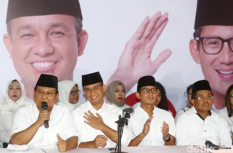 Fadli Zon: Prabowo Pasti Diundang Pelantikan Anies-Sandi di Istana