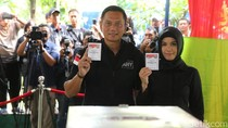Usai Mencoblos, Agus Datangi Rumah SBY di Mega Kuningan