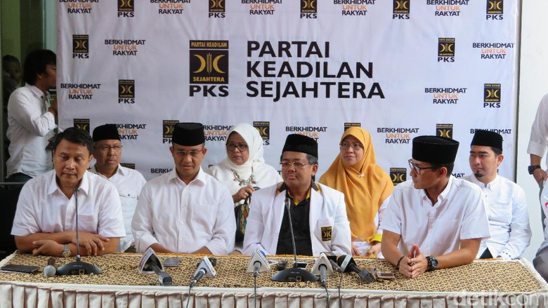 PKS Umumkan Anies-Sandi Unggul di Exit Poll, Kader Serukan Takbir