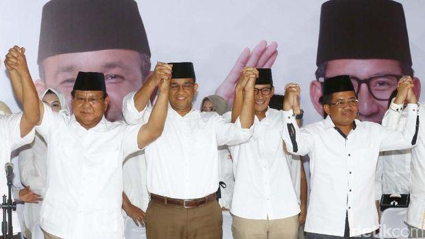 Prabowo jadi 'king maker' kemenangan Anies-Sandi di Pilgub DKI.