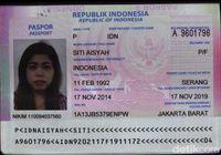 Ini Paspor Siti Aisyah yang Terkait Pembunuhan Kakak Kim Jong Un