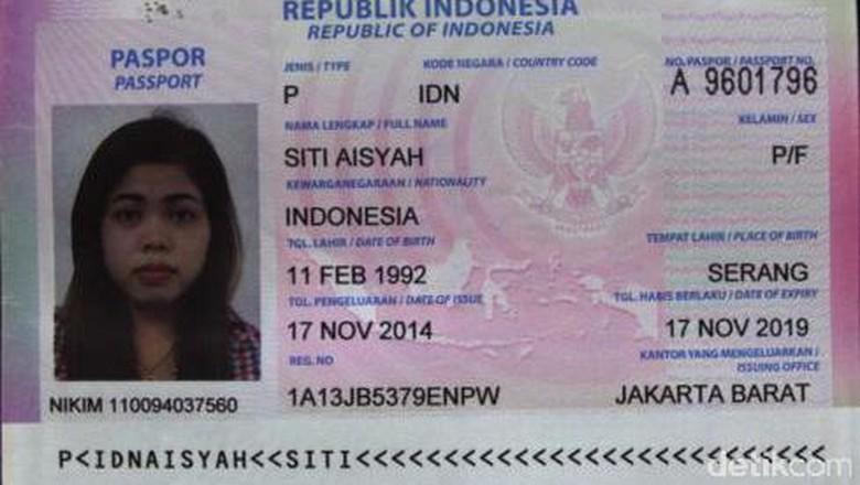 Siti Aisyah Ditangkap Saat Bersembunyi di Hotel Ampang Malaysia