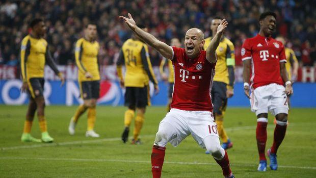 Robben menilai performa tim lebih berpengaruh untuk meraih kemenangan.