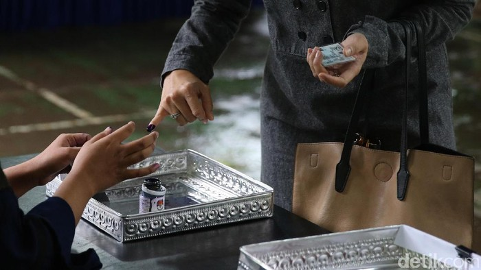 Ilustrasi tinta pemilu (Foto: Ari Saputra)