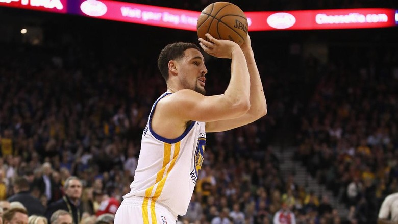 Klay Thompson Tampil Oke, Warriors Atasi Kings