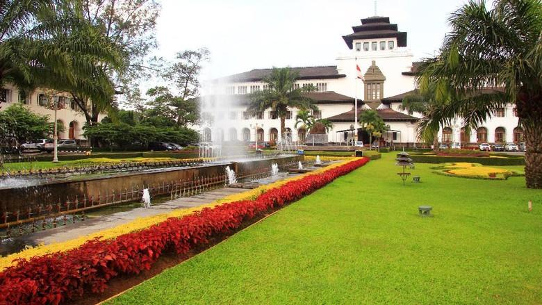 Ilustrasi Gedung Sate Kota Bandung (Foto: Thinkstock)