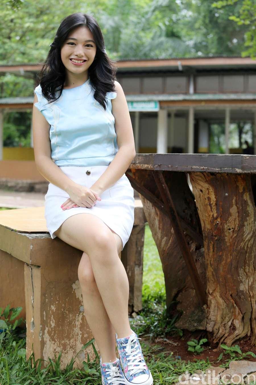 Claudy Putri, Si Cantik Tapi Medok