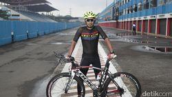 M Fadli, sang Pebalap Itu, Bikin Kesepakatan dengan Pelatih Para-cycling