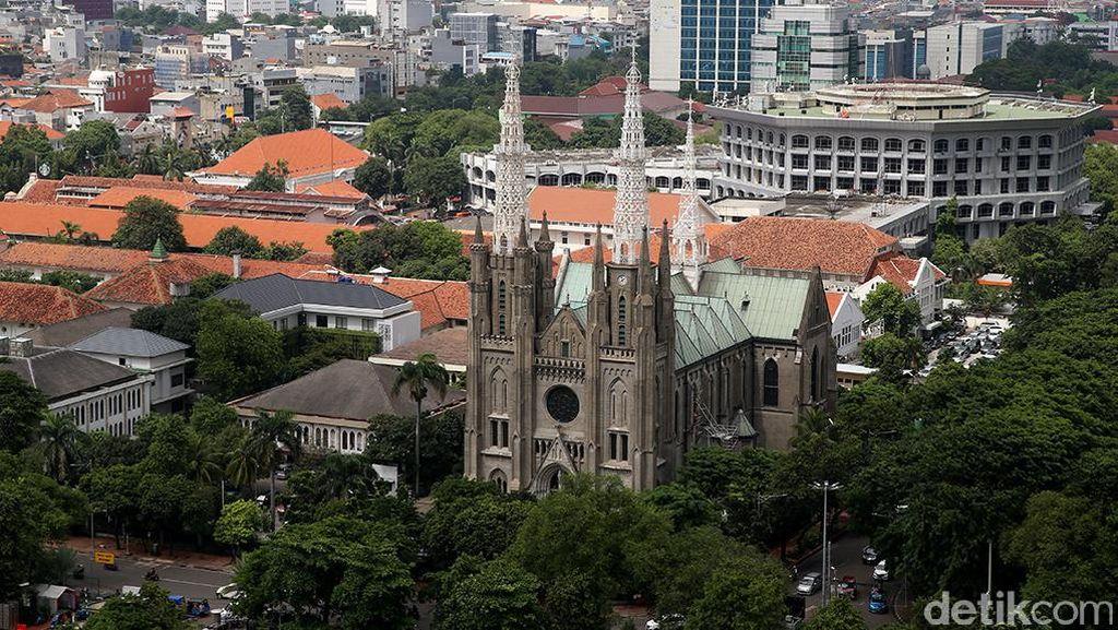 Sambut Sumpah Pemuda, Gereja Katedral akan Bermandikan Cahaya
