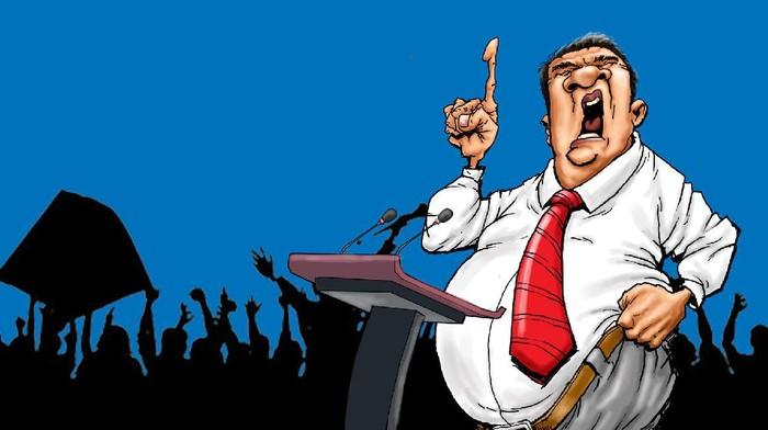 Ilustrasi Bumper DetikX Konsultan Politik