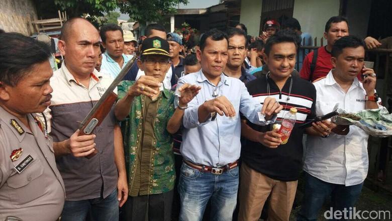 Gerebek Permukiman di Medan, Polisi Sita Sabu hingga Senjata Rakitan