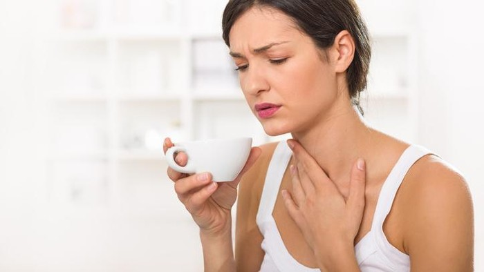 Ilustrasi nasofaring akut. Foto: iStock