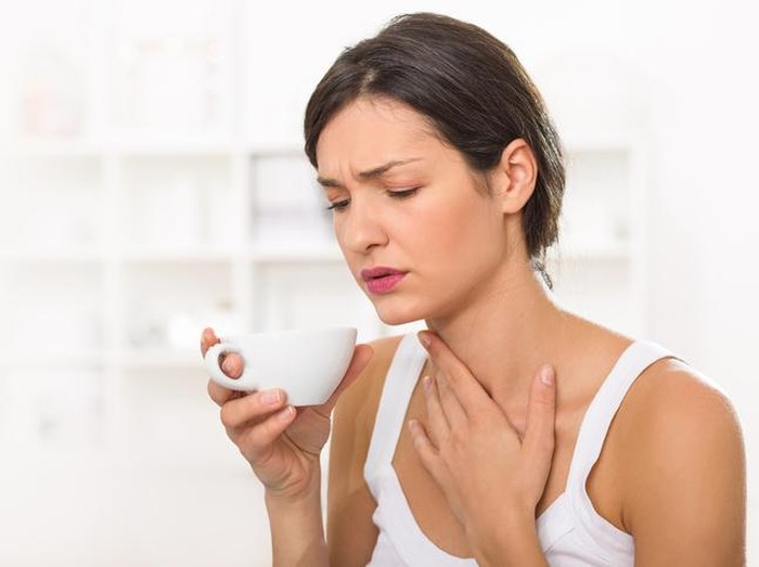 Ilustrasi sakit tenggorokan (Foto: iStock)