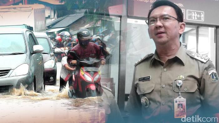 Siasat Ahok atasi banjir di Jakarta