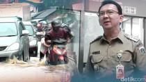 Menurut Survei, Ahok Ungguli Jokowi dan Anies dalam Atasi Banjir