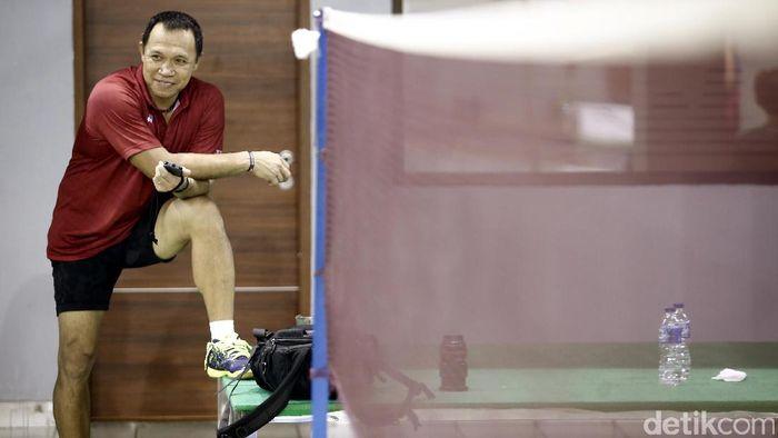 Richard Mainaky, pelatih pelatnas ganda campuran (Rachman Haryanto/detikSport)