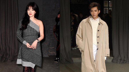 Gaya Song Hye Kyo dan Kris Wu di London Fashion Week 2017